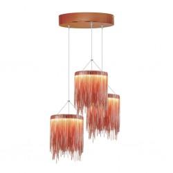 LAMPA WISZCA CASCATA COPPER 54W LED