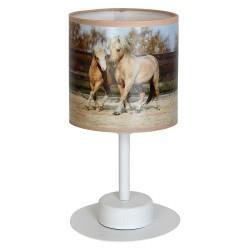 Lampka biurkowa HORSES 1xE27