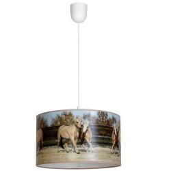 Lampa Wiszca HORSES 1xE27