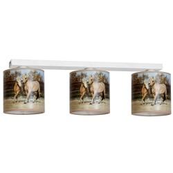 Lampa Sufitowa HORSES 3xE27
