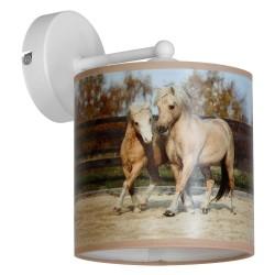 Kinkiet HORSES 1xE27/60W/230V
