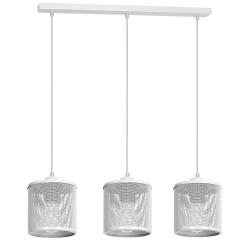 Lampa Wiszca LOUISE WHITE 3xE27