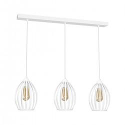 Lampa Wiszca RUSSEL WHITE 3xE27