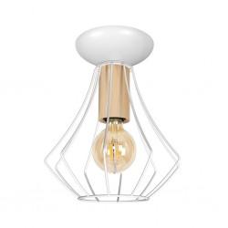 Lampa sufitowa WILL WHITE 1xE27