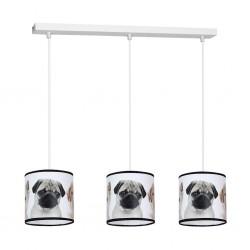 Lampa Wiszca DOGS 3xE27