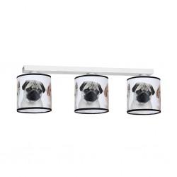 Lampa Sufitowa DOGS 3xE27