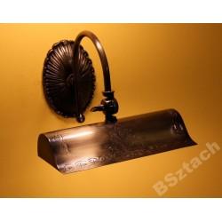 Mosiężny kinkiet sevinc 4215 lampa ścienna mosiądz