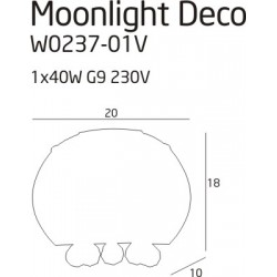 Bot LT 16 - Vistosi - lampa biurkowa