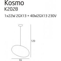 Bot PP 45 - Vistosi - kinkiet/plafon nowoczesny